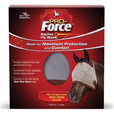 Pro-Force Equine Fly Mask without Ears