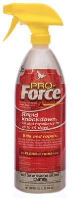 Pro-Force Fly Spray, Quart (32 oz)