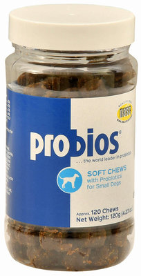 Probios Canine Soft Chews for Small Dogs, 120 count