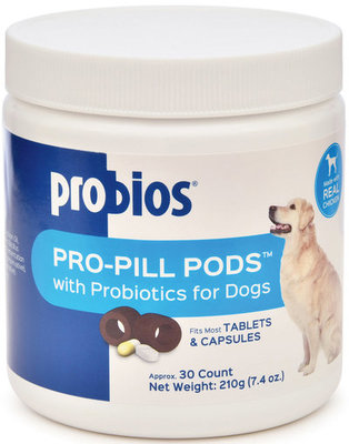 Probios Pro-Pill Pods, Large 30 count, 7.4 oz