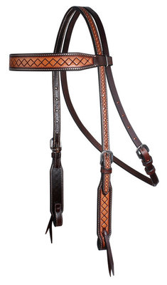 Professional's Choice Crosshatch Browband Headstall