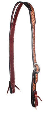 Professional's Choice Crosshatch Split Ear Headstall