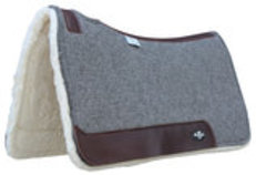 Professional's Choice Deluxe 100% Wool Saddle Pad w/ Fleece