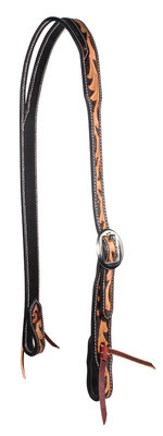 Professional's Choice Floral Split Ear Headstall