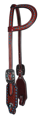 Professional's Choice Basket Weave One Ear Headstall