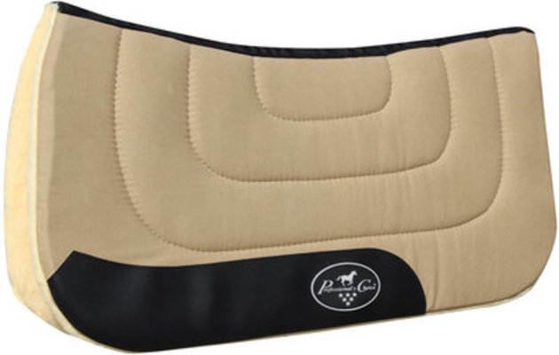 "Professional's Choice Contoured Saddle Pad, 31"" x 32"""