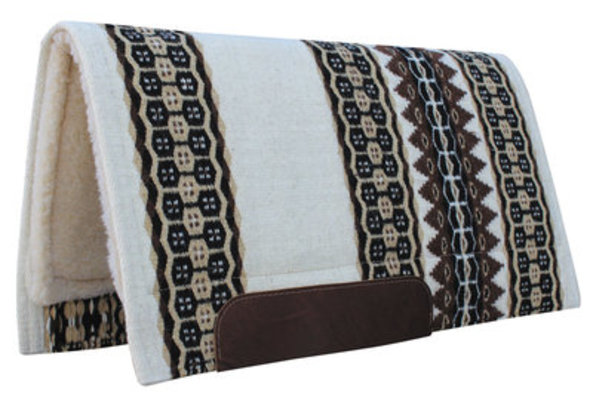 "Professional's Choice ""Mesquite"" Saddle Pad, 33"" x 38"""