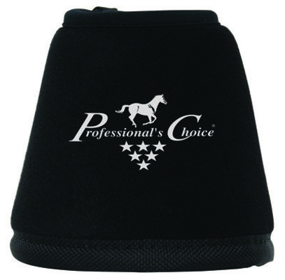 Professional's Choice Quick-Wrap Black Bell Boots