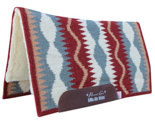 """Professional's Choice """"Serpentine"""" Comfort-Fit SMx Air Ride Saddle Pad, 33"""" x 38"""""""