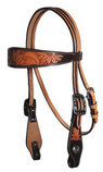 Professional's Choice Sunflower Browband Headstall