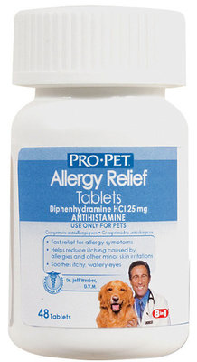 ProPet Allergy Relief Tablets, 48 Count