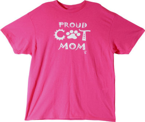 """Proud Cat Mom"" T-Shirt"