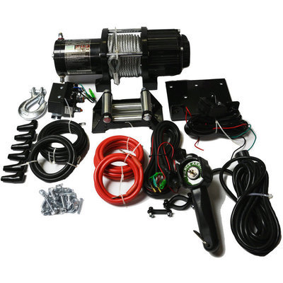 Pierce Recovery Winch