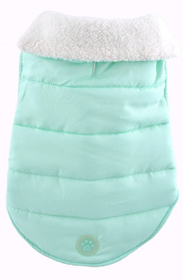 """Puffy"" Dog Coat, Mint"