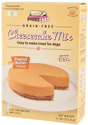 Puppy Cake Cheesecake Mix (Grain-Free) Peanut Butter