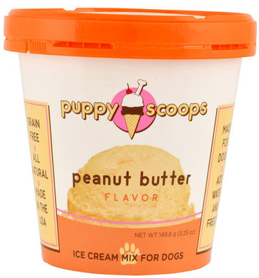 Puppy Scoops Ice Cream Mix, Peanut Butter