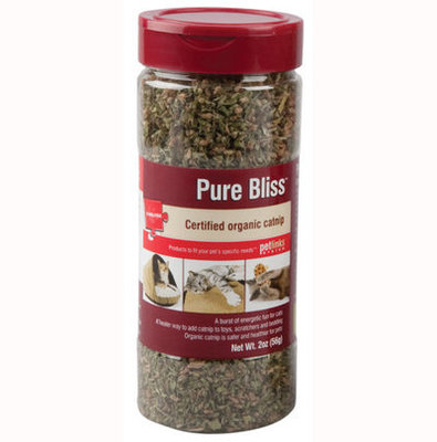 2 oz Pure Bliss Catnip Shaker Canister