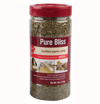 4 oz Pure Bliss Catnip Shaker Canister