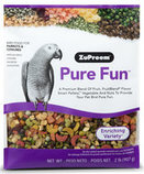 Pure Fun Bird Food for Parrots & Conures