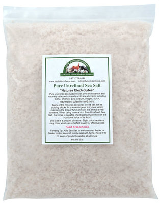 Pure Unrefined Sea Salt, 5 lb