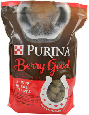 Purina Berry Good Senior Horse Treats, 3 lb