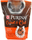 Purina Carrot & Oat Horse Treats, 2.5 lb