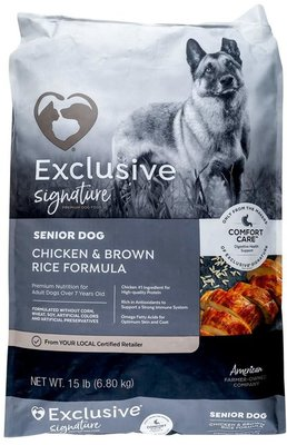 Purina Exclusive Senior Adult Dog Food