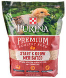 Purina Start & Grow AMP Medicated Feed Crumbles