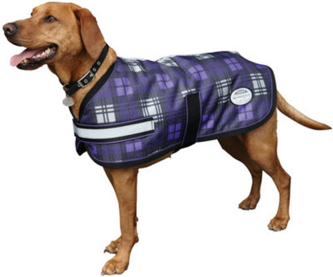 Plaid Parka 1200D Dog Coat