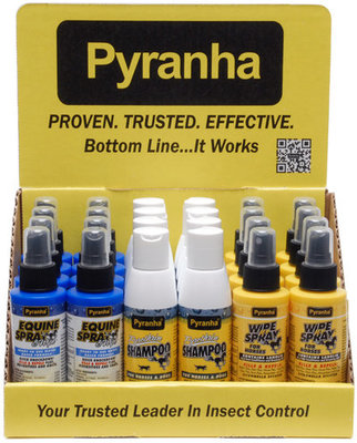 Pyranha Counter Top Display