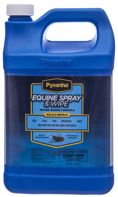 Pyranha Equine Spray & Wipe, gallon