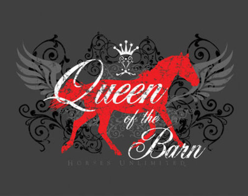 Queen of the Barn Tee