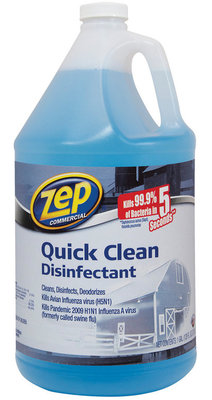 1 Gallon, Quick Clean Disinfectant