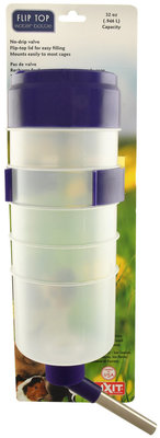 32 oz Quick-Lock Flip Top Water Bottle with Valve