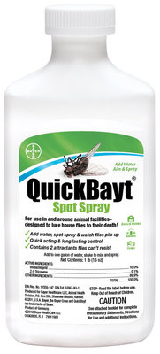 QuickBayt Fly Spray, 16 oz