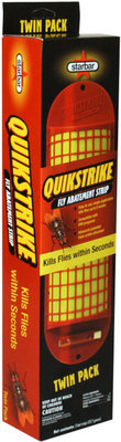 QuikStrike Fly Abatement Strip, Twin Pack