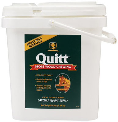 Quitt™ Stops Chewing Wood