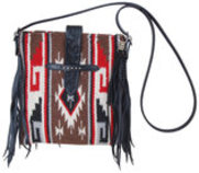 Rafter T Cross Body w/Fringe
