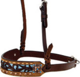 Rafter T Distressed Filigree Noseband