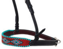 Rafter T Embroidered Aztec Noseband