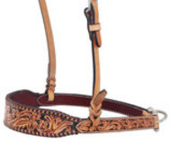Rafter T Floral Tooled Noseband