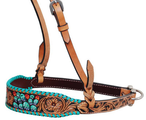 Rafter T Painted Cactus Noseband