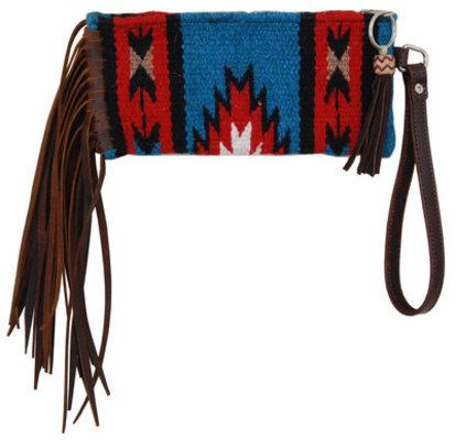 Rafter T Wristlet with Fringe