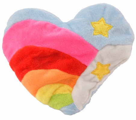 Rainbow Heart Bavarian Cat Toy