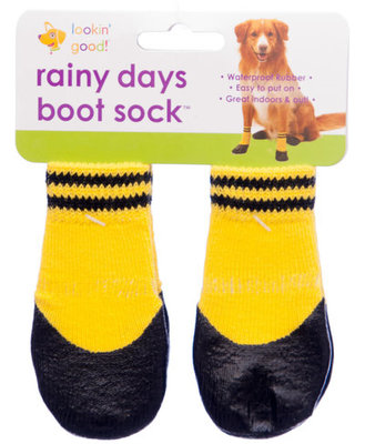 Small Rainy Day Sock, Yellow