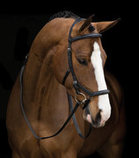 Rambo Micklem Deluxe Competition Bridle, Black