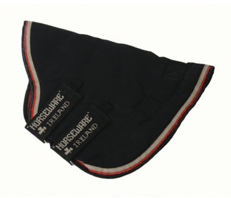 Rambo Optimo Hood, Black/Orange, No Fill