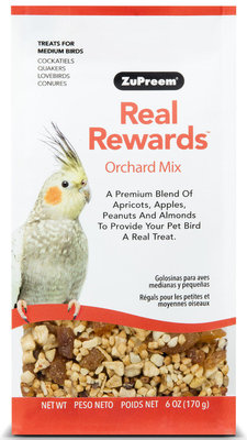Real Rewards Orchard Mix for Medium Birds