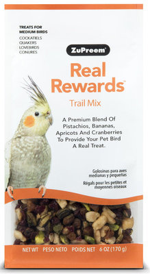 Real Rewards Trail Mix Bird Treats, Medium