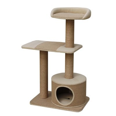 Cat Condo with Top Resting Area